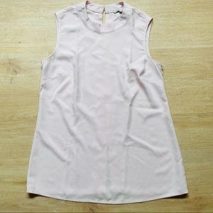 Target Pale Pink Sleeveless Blouse Size 8